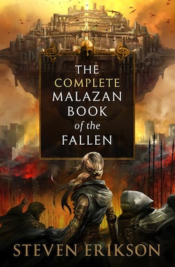 Steven Erikson author interiew: Malazan Book of the Fallen (video).