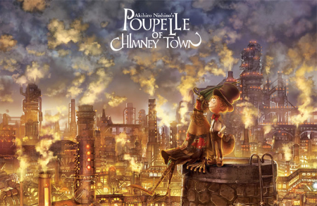 Poupelle of Chimney Town (animated steampunk film: trailer).