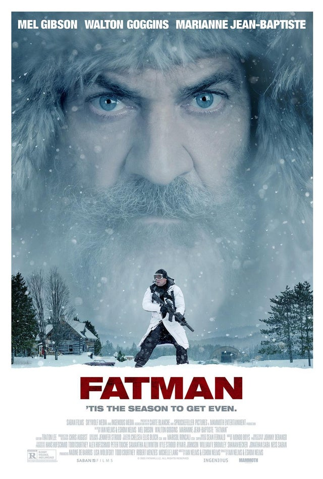 Fatman: Santa action hero (fantasy movie: trailer).
