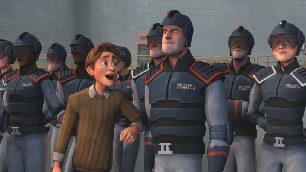 Henchman (animated superhero movie: trailer).