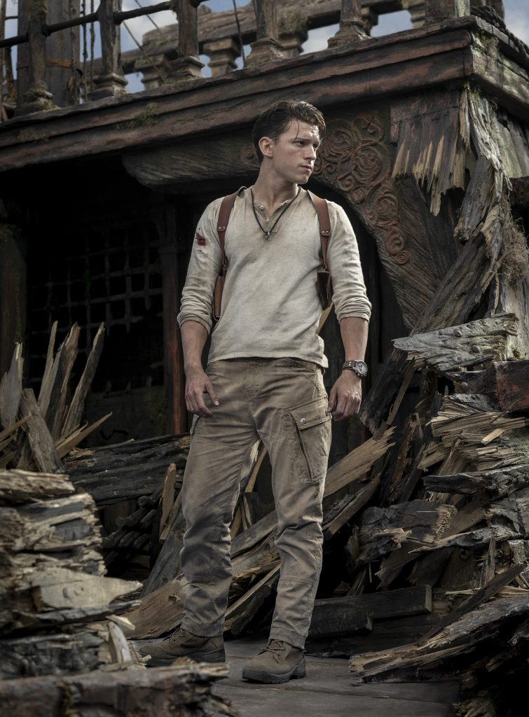 Uncharted: Tom Holland as Nathan Drake (film news).