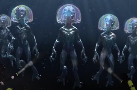 Soviet Union blundered into underwater alien base: divers died (video).