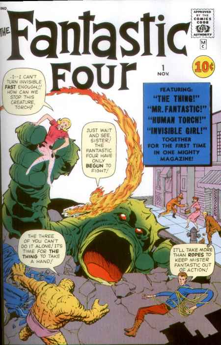 Fantastic Four issue 1
