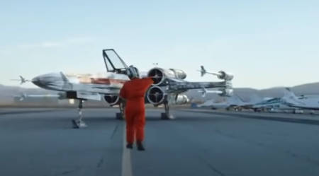 Star Wars: Rogue Squadron (new movie: Director intro).