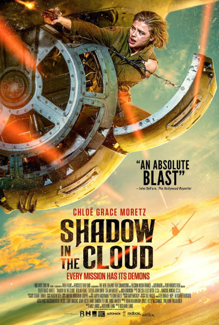 Shadow in the Cloud (horror film: trailer).