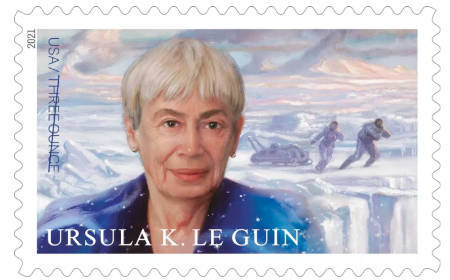 Ursula K. Le Guin gets her own U.S postage stamp (news).