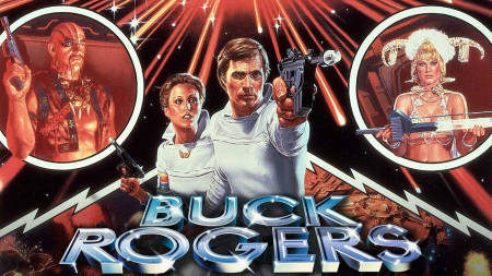 Buck Rogers reanimated back to life by George Clooney (TV news).