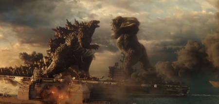 Godzilla vs. Kong monster movie (a film review by Mark Kermode).
