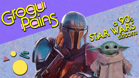 Grogu Pains (silly trailer for a 1990s comedy show version of the Mandalorian).