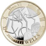 Royal Mint launches illiterate HG Wells coin with four-legged Martian tripod (news).