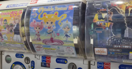 The most expensive capsule toys in Tokyo? (video)