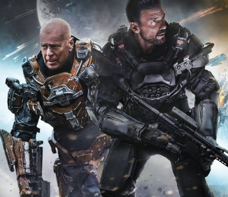 Cosmic Sin: Bruce Willis and Frank Grillo-led scifi war movie (trailer).