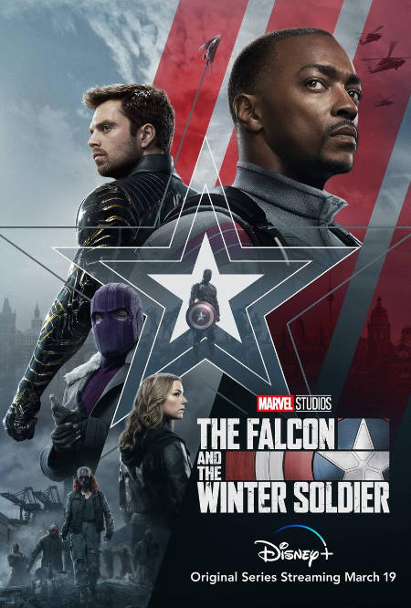 The Falcon and the Winter Soldier (superhero TV series: trailer).