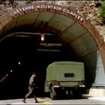 The underground super-base at Cheyenne Mountain (science video).