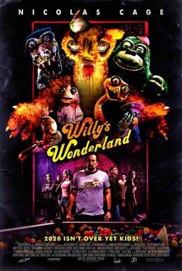 Willy's Wonderland: a horror movie review by Mark Kermode (video).