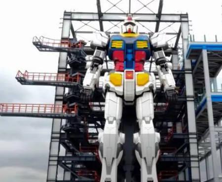 Gundam Factory Tokyo - a full tour (video).