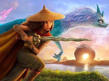 Raya and The Last Dragon (animated fantasy movie: a Mark Kermode review).