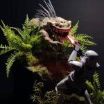 Stormtrooper vs. Nexu model diorama tutorial (video).