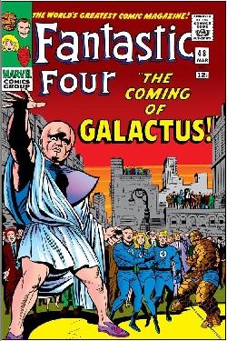 The Galactus Trilogy: a comic-book retrospective (video).