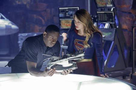 David Harewood: Supergirl actor interviewed (video).
