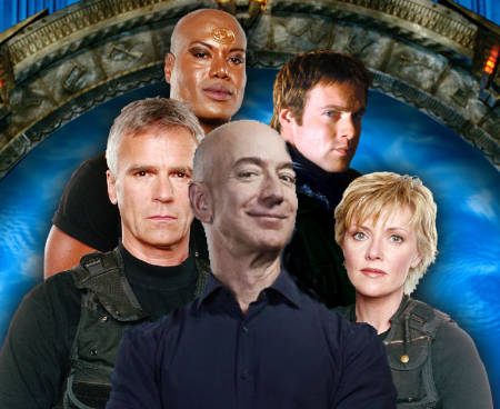 Dial the Gate for Amazon HQ: Jeff Bezos buys MGM! He deeply desires Stargate and James Bond (news).