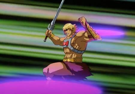 Masters of the Universe (Netflix He-Man cartoon: trailer).